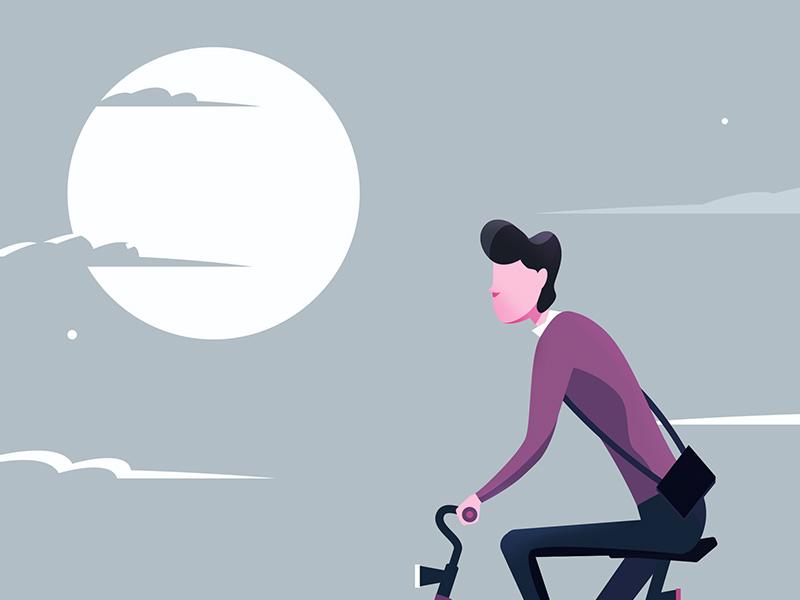 cyclist_art_flat_2d