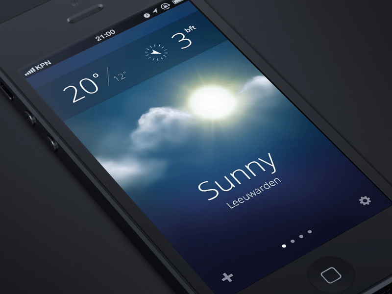 weather_app_ios_flat